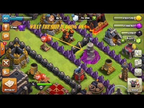 Clash of clans: All troops missing