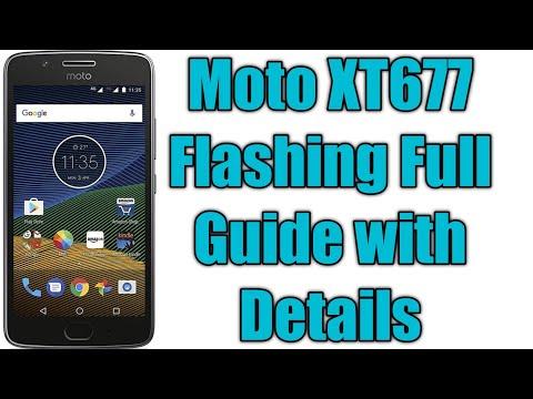 How To Flash Moto G5 (XT1677)