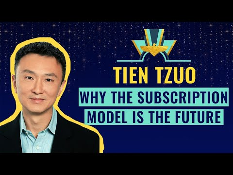 """Why The Subscription Model Is The Future"" 💸 With Tien Tzuo, CEO Of Zuora"