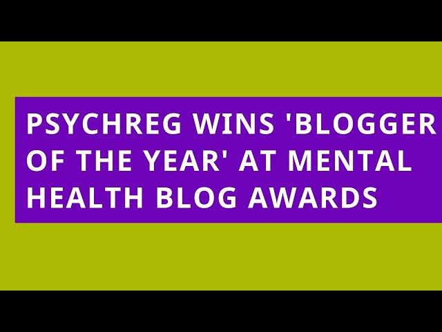 Psychreg Wins 'Blogger of the Year'