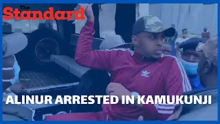 Politician AliNur arrested by police while distributing food together with Bahati in KamukunjiPoliti