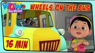 Wheels on the bus | English Rhymes for Children | Songs for Kids | Nyras Rhymes