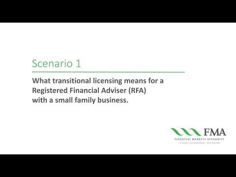 Transitional Licensing - Scenario 1