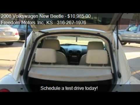2008 Volkswagen New Beetle S - for sale in Wichita, KS 67214