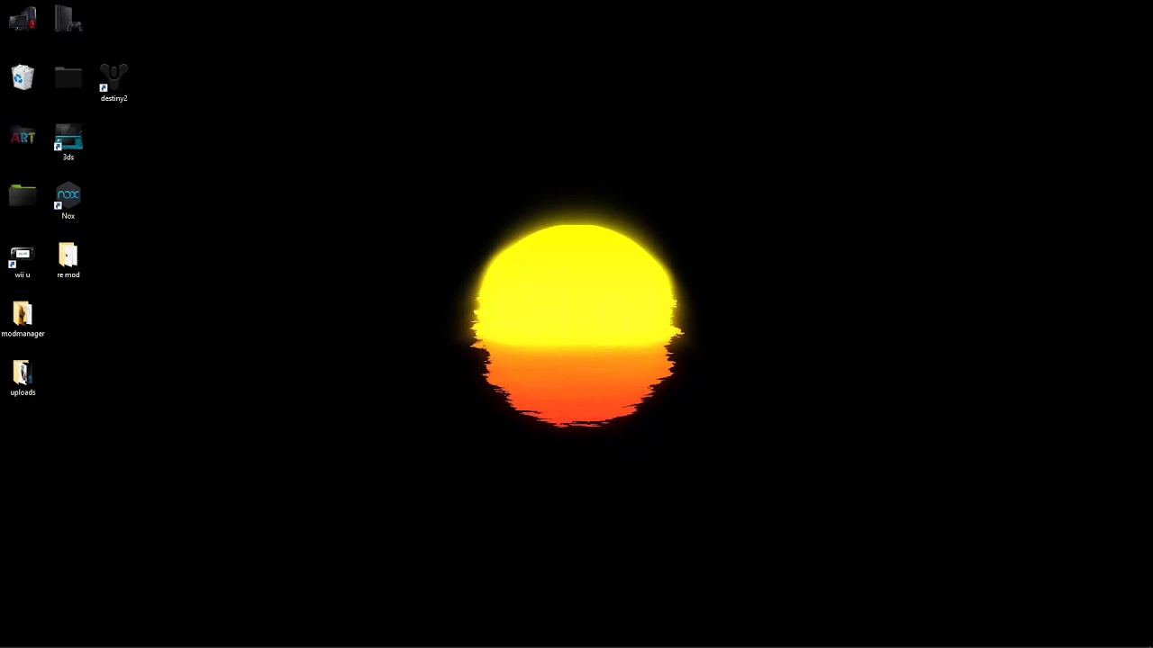 wallpaper engine Neon Sunset free download - YouTube