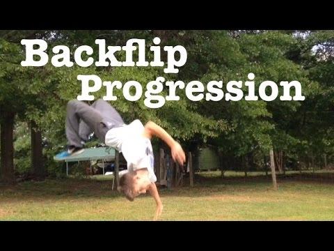 BACKFLIP IN 2 DAYS! - Backflip progression