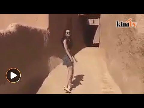 Arab Saudi siasat video model berpakaian seksi