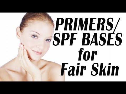 Foundation Primers/SPF Bases for VERY FAIR Skin | LetzMakeup (Part 1 of 5)