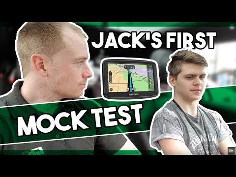 Jack's 1st Mock Driving Test - EVER!! |  Hours 25 & 26