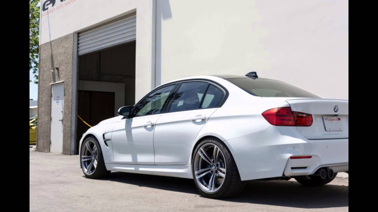 2016 Bmw M3 Model Alpine White