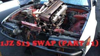 1JZ S13 SWAP (PART 1)