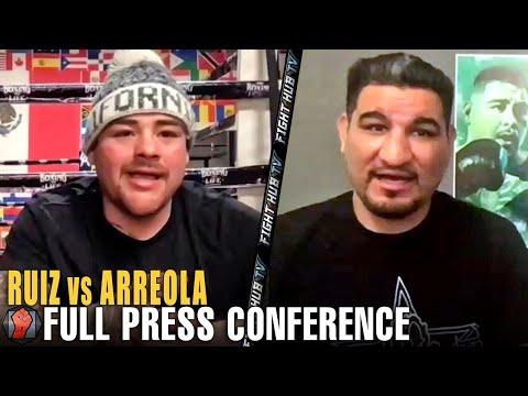 ANDY RUIZ JR VS. CHRIS ARREOLA FULL PRESS CONFERENCE