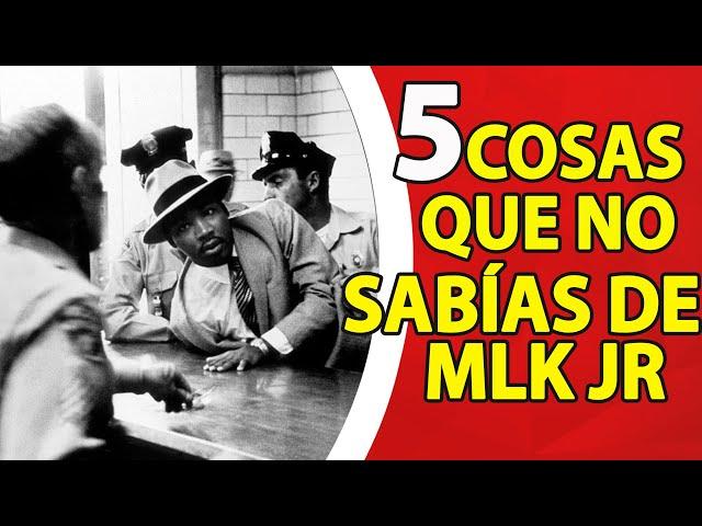 5 Cosas que no sabías de Martin Luther King Jr.