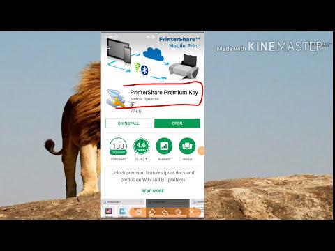How To Install Print Share Premium Key In Free By Cyberhindi