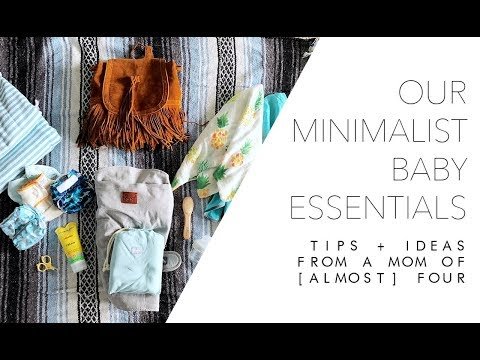 Our Minimalist Baby Essentials - From A Mom of [Almost] Four