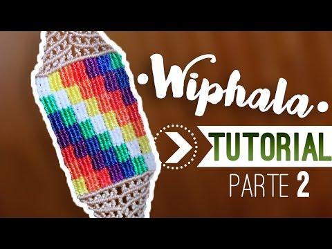 Como hacer pulseras whipala