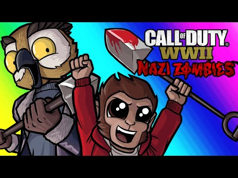 Thumbnail: COD WW2 Zombies Funny Moments - Easter Egg Hunt and Relentless Lui!