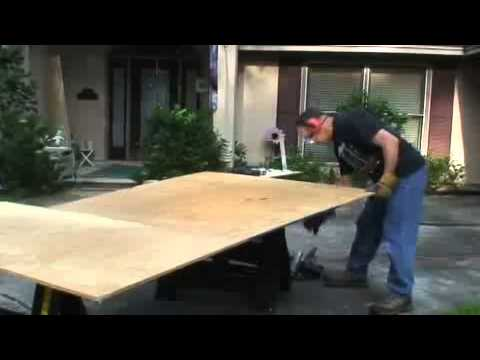 How to build a hurricane shutter