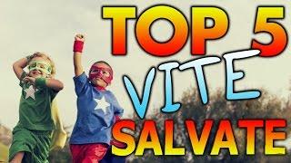 Top 5 Vite SALVATE dai Videogiochi #TOPGAMES