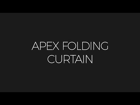 Apex Folding Curtain