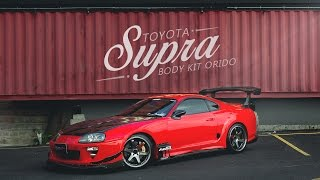 """Toyota Supra ในคอนเซ็ปต์แต่งหล่อๆ..พอใช้งานกับชุด Body Kit """"Orido"""" By BoxzaRacing.com"""