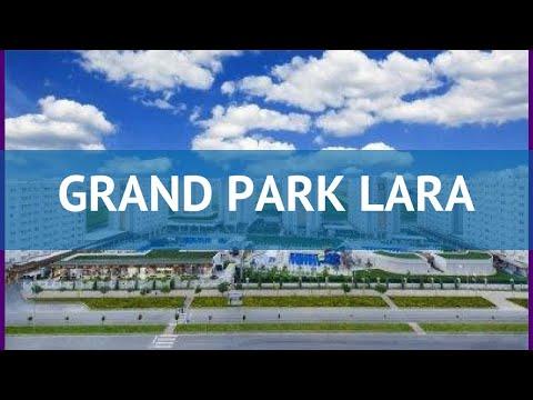 GRAND PARK LARA 5* Турция Анталия обзор – отель ГРАНД ПАРК ЛАРА 5* Анталия видео обзор