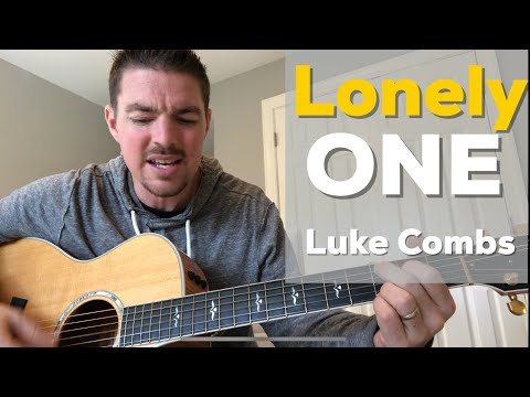 Lonely One | Luke Combs | Beginner Guitar Lesson