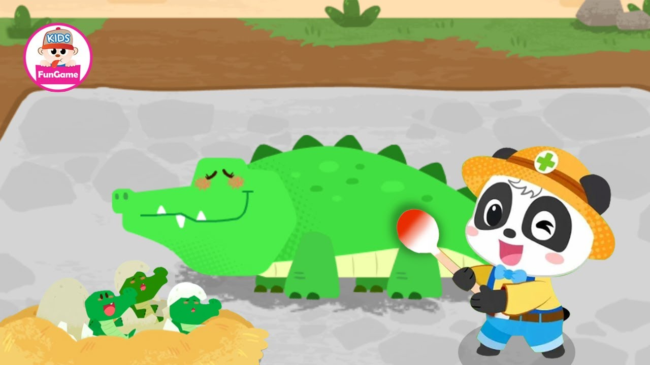 Đội Cứu Hộ Động Vật Của Gấu Trúc Kiki - Giải Cứu Gia Đình Cá Sấu