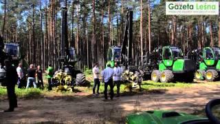 Pokaz maszyn leśnych John Deere