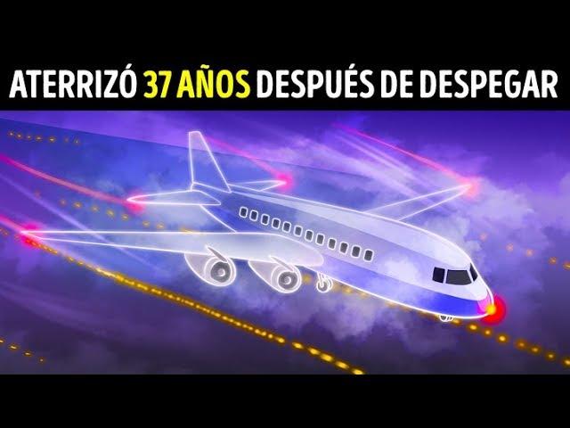 Un avión desapareció y aterrizó 37 años después