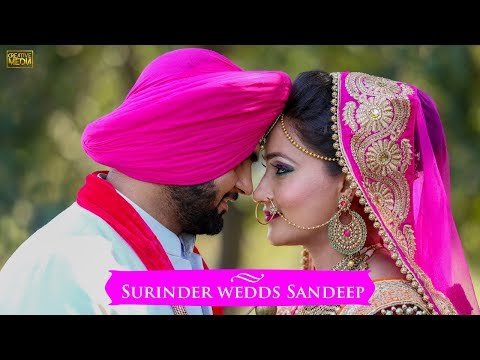 Best Sikh Wedding | 2018 | Surinder & Sandeep | Creative Media | Kapurthala | India