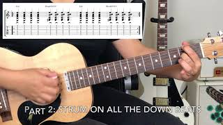Easiest Beginner Guitar song EVER! Horse with No Name - America Beginner to Pro in Under 5 Minutes!