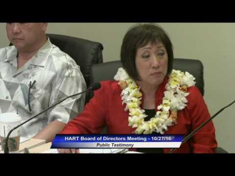 HART Board Meeting Oct 27, 2016