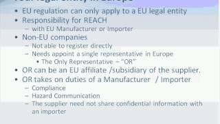 EU REACH 2