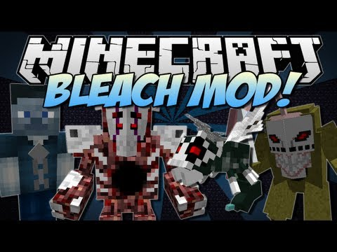 Minecraft | BLEACH! (Become a Shinigami!) | Mod Showcase [1.6.2]