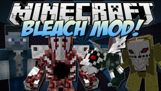 Minecraft | BLEACH! (Become a Shinigami!) | Mod Showcase [1.6.2]