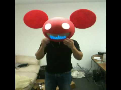 deadmau5 costume with lights youtube