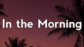 Jennifer Lopez - In the Morning (Lyrics)