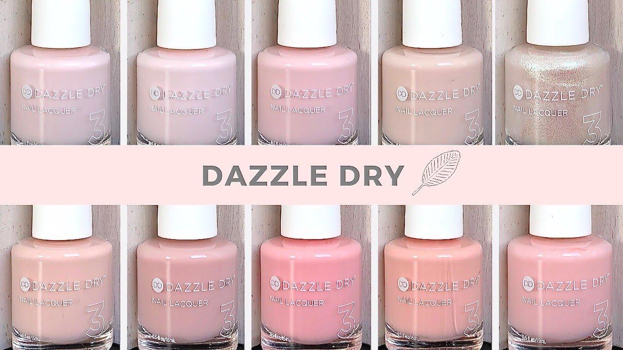 Dazzle Dry Quick Live Swatch Youtube
