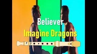 Baixar Imagine Dragons - Believer (FLUTE COVER - FLAUTA COVER CON NOTAS)