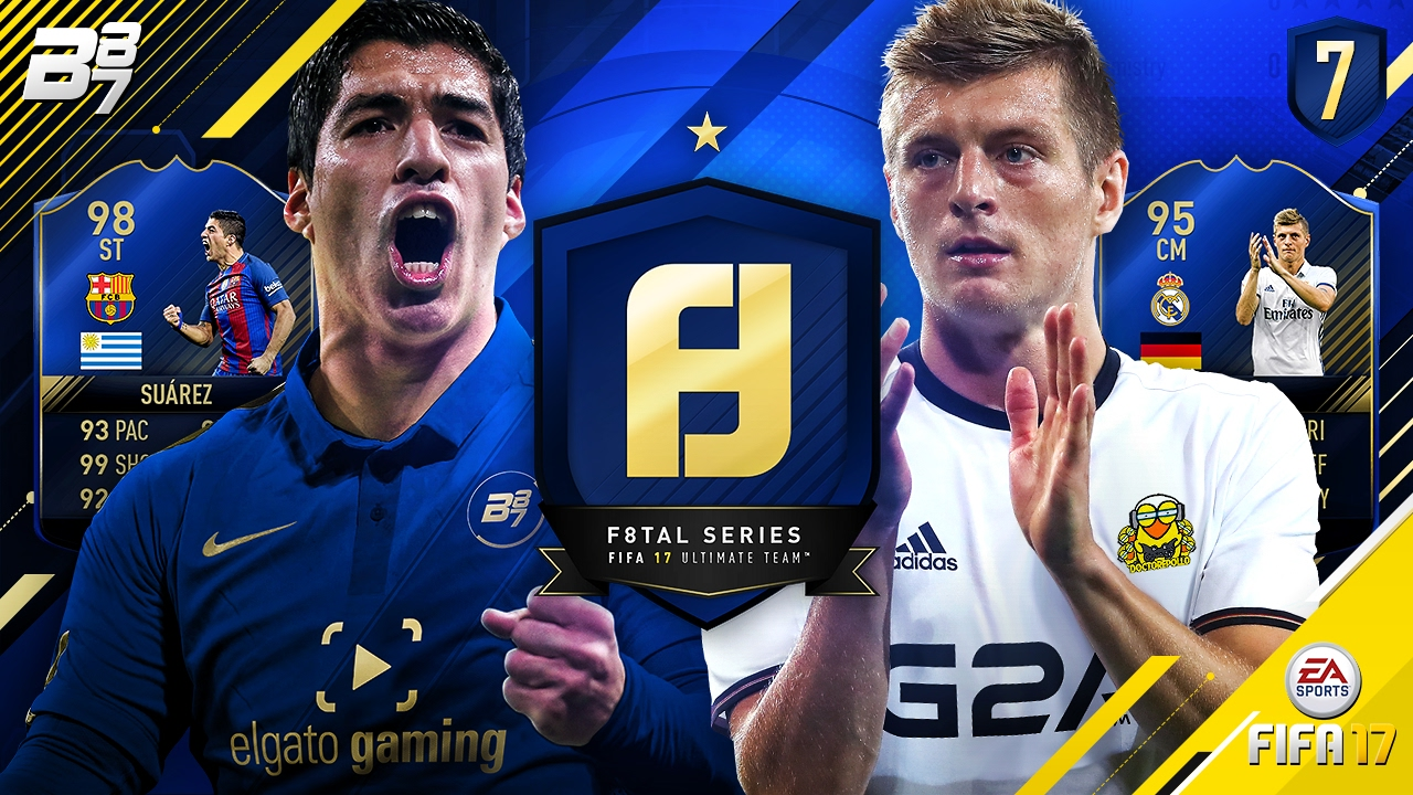f8tal team of the year toty suarez vs toty kroos vs doctorepollo fifa 17 ultimate team 7. Black Bedroom Furniture Sets. Home Design Ideas