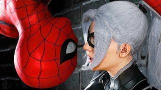 SPIDER-MAN - THE HEIST All Cutscenes Movie (Black Cut DLC)