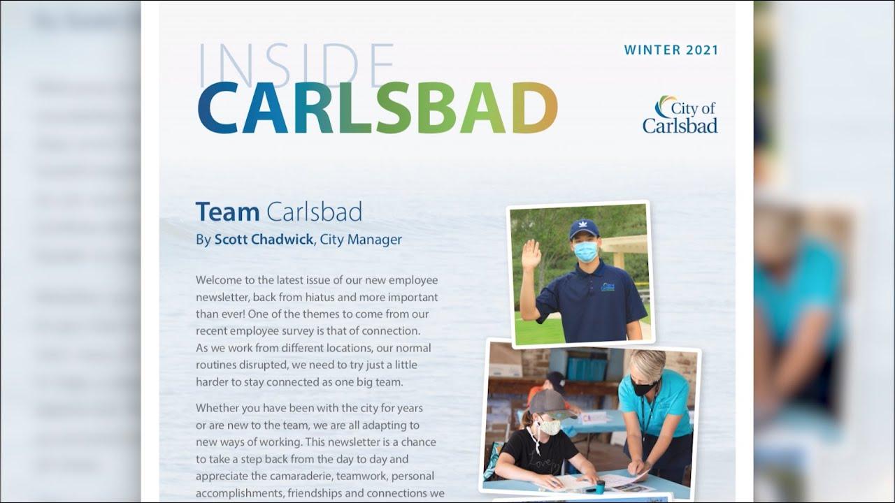 Inside Carlsbad Newsletter - February 2021