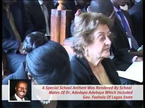 GEN ADEYINKA ADEBAYO'S SON - DAPO - DIES AT 48