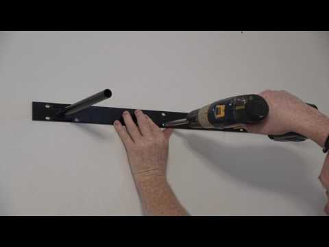 Install Floating Shelf in Concrete How to D.I.Y Hanging Shelves. from YouTube · Duration:  6 minutes 15 seconds
