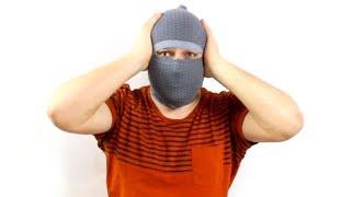 как сделать маску за 30 секунд. ЛАЙФХАК! Маска для лица своими руками.