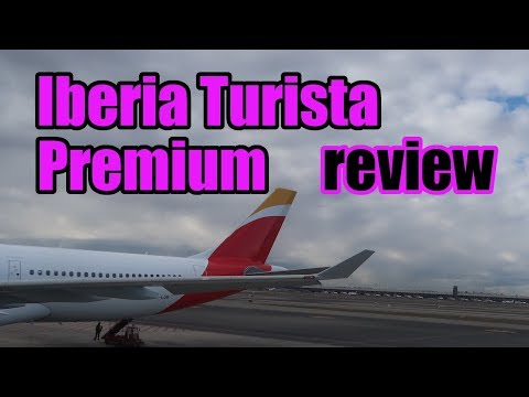 Iberia Turista Premium review Madrid - Miami 2018