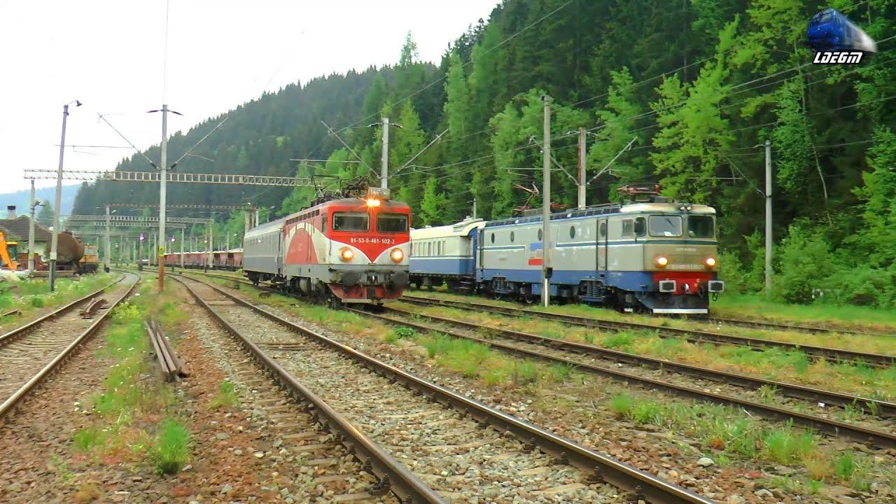 Trenuri & Trafic Feroviar în Vatra Dornei/Trains & Rail Traffic in Vatra Dornei - 04 June 2021