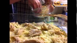 Chicken Sour Cream Enchiladas Casserole
