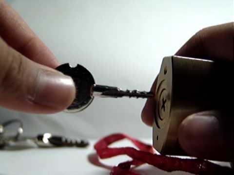 14. Bellhorn Cruciform Padlock Unorthodox Entry Method